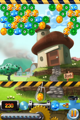 Screenshot Bubble Town 2 Lite